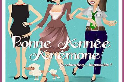 Bonne Annee, Anemone à Avignon