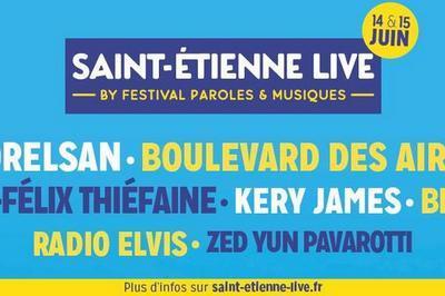 Boulevard Des Airs / H-F Thiefaine à Saint Etienne