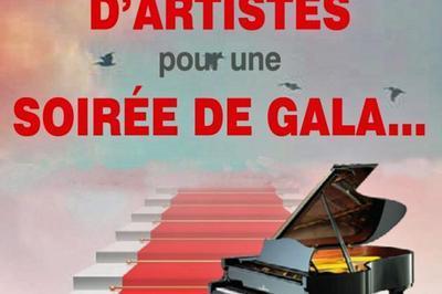 Bouquet d'artistes pour une soirée de gala 2021