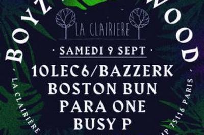 Boyz In Da Wood : Para One, Busy P, Boston Bun... à Paris 16ème