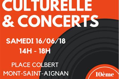Braderie Culturelle & Concerts à Mont saint Aignan