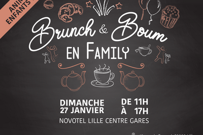 Brunch et Boum en Family à Lille