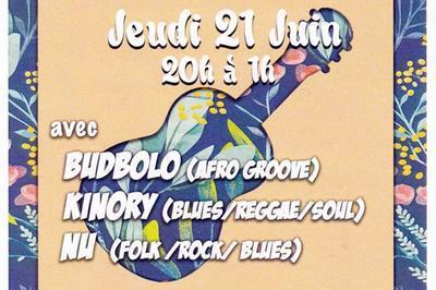 Budbolo - Kinory - Nu (Fête de la Musique 2018) à Perpignan