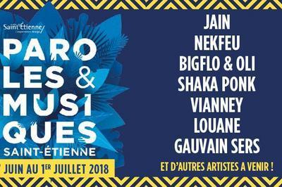Buridane + Pierre Lapointe à Saint Etienne