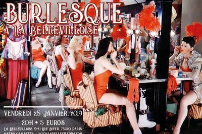 Burlesque à la Bellevilloise à Paris 20ème
