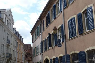 C'était La Rue Des Manufactures à Mulhouse