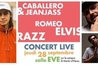Caballero & Jeanjass, Romeo Elvis.. à Saint Martin d'Heres