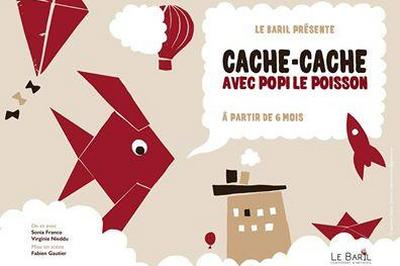 Cache-cache (avec Popi Le Poisson Rouge) à Ramonville saint Agne