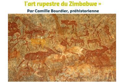 Café-préhistoire De Camille Bourdier Des Antilopes Et Des Hommes : L'art Rupestre Du Zimbabwe à Aurignac