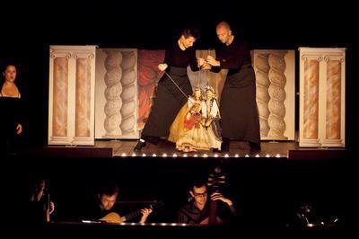 Caligula | Giovanni Maria Pagliardi - Vincent Dumestre / Le Poème Harmonique - Mimmo Cuticchio - Alexandra Rübner - Cie Arcal à Sete