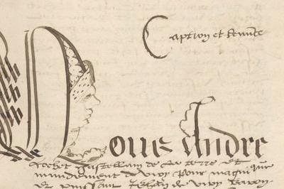 Calligraphie à Annecy