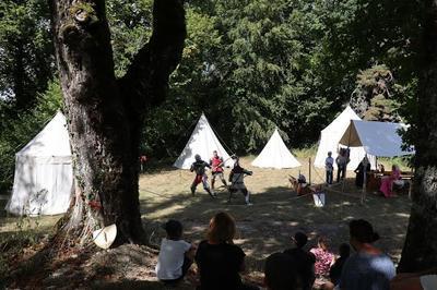 Campement médiéval à Clermont