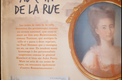 Exposition sur le patrimoine architectural de Remiremont et les romarimontains inoubliables