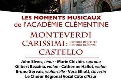 Carissmi. Monterverdi. Castello. Concert du clôture du Festival de cinéma italien à Cannes