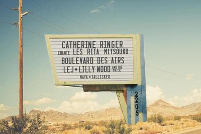 Catherine Ringer, Lilly Wood and The Prick à Bourgoin Jallieu