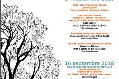 Célébration De L'identité Des Arbres Du Centre Hospitalier Charles Perrens à Bordeaux