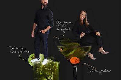 Céline Volay Et Maxime Fabre Dans Copain Comme Copine 2 : Soirée Cocktail à Lyon
