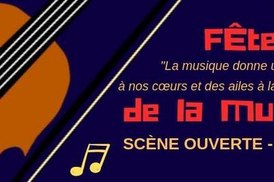 Scène ouverte - Fête de la musique à Toulouse