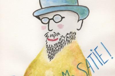 Chapeau M. Satie !spectacle Musical à Lyon