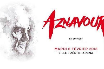 Charles Aznavour à Lille