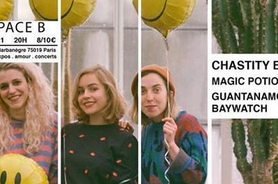 Chastity Belt / Magic Potion / Guantanamo Baywatch à Paris 19ème