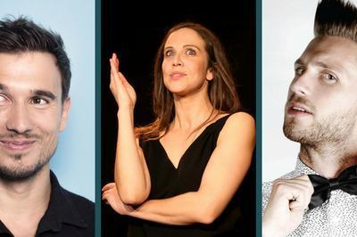 Chatel En Rire : Sebastien Giray, Perrine Perez et Florian Lex à Châtel Guyon