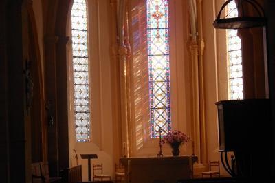 La Chapelle Saint-sebastien De L'église De Conzieu