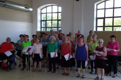 Choeur De L'atelier Choral Et Choeur Des Personnels De La Préfecture, De La Ddt Et Ddcspp à Belfort