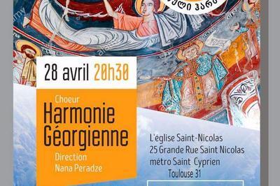Choeur Harmonie Georgienne à Toulouse