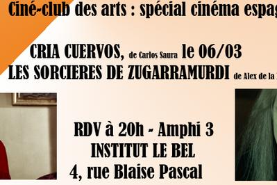Ciné-club Des Arts : Special Cinema Espagnol à Strasbourg