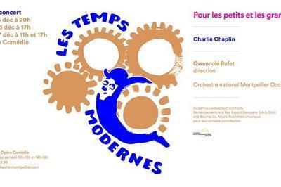 Ciné-concert Les Temps modernes à Montpellier