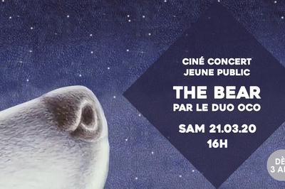 Ciné-concert The Bear par le duo OCO à Sceaux