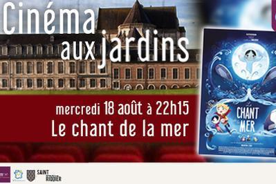 Cinéma aux jardins - Le chant de la mer à Saint Riquier