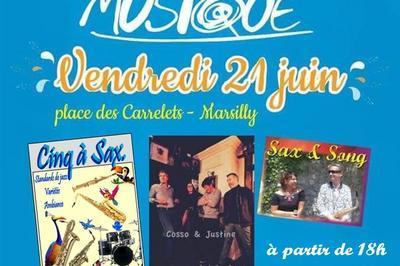 Cinq à Sax., Cosso & Juliette Et Sax And Song à Marsilly