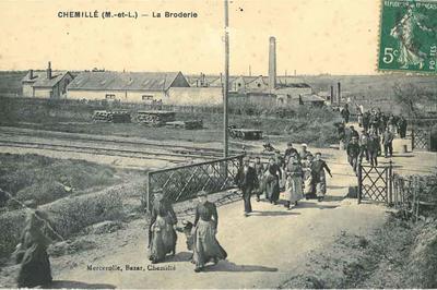 Circuit En Visite Guidée Sur Le Thème De L'industrie Textile à Chemillé