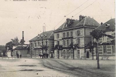 Circuit Les Ganteries Du Quartier De La Mutualité De Grenoble.