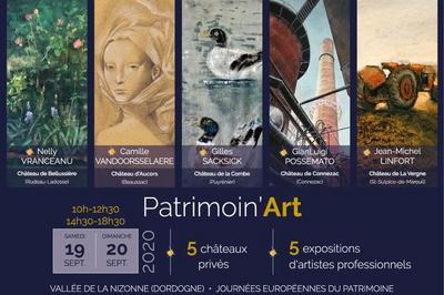 Circuit Patrimoin'art 2020 à Mareuil