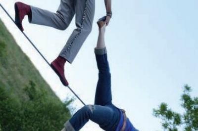 Cirque dans le parc à Landivisiau