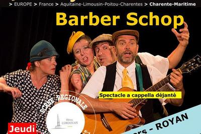 Cityjazzy  Barber Shop Quartet à Royan
