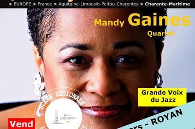 Cityjazzy - Mandy Gaines Quartet à Royan