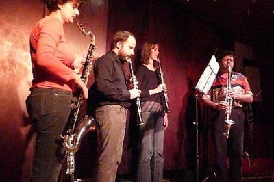 Clartet Quatuor de clarinettes à Grenoble