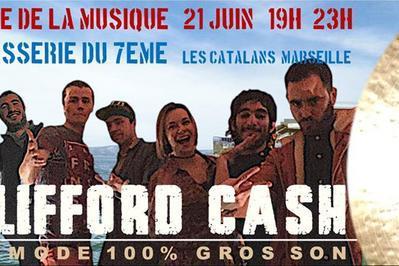 Clifford Cash à Marseille