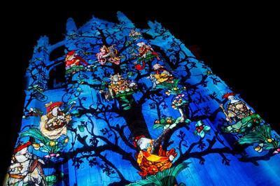 Clôture Des Spectacles « Beauvais, La Cathédrale Infinie » Et « Horizons Imaginaires »