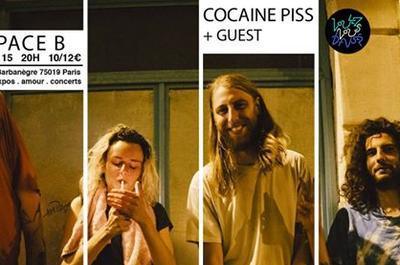 Cocaine Piss + Mss Frnce & Bracco à Paris 19ème