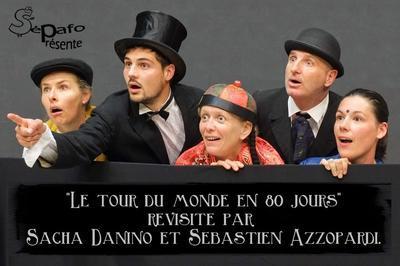 Comédie théâtre Le tour du monde en 80 jours à Sainte Gemmes sur Loire