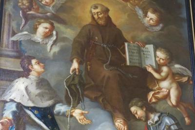 Commentaire Du Tableau Saint François D'assise Reçoit Saint Louis Et Saint Elzéar De Sabran Au Tiers Ordre à Orange