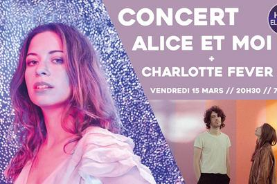 Concert Alice Et Moi Et Charlotte Fever à Sceaux