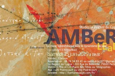 AmberLead La musique synesthésique avec dynamisme du jazz à Paris 19ème