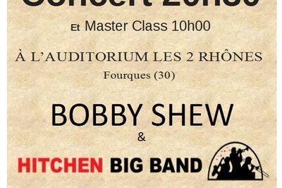 Concert Bobby Shew avec Hitchen Big Band à Fourques