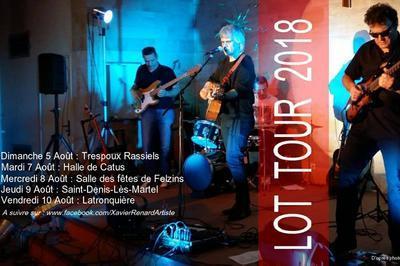 Concert Chansons Françaises (Auteur, Compositeur, Interprète) à Latronquiere